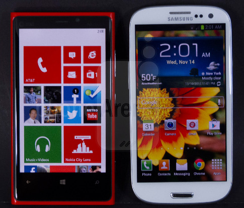 Nokia 930 Vs Samsung Galaxy Note 3