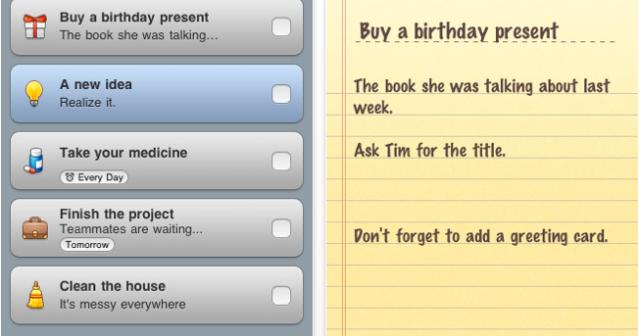 iPhone task