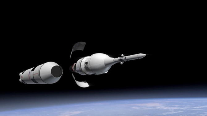 NASA Orion Spaceship All Set For the Test Launch
