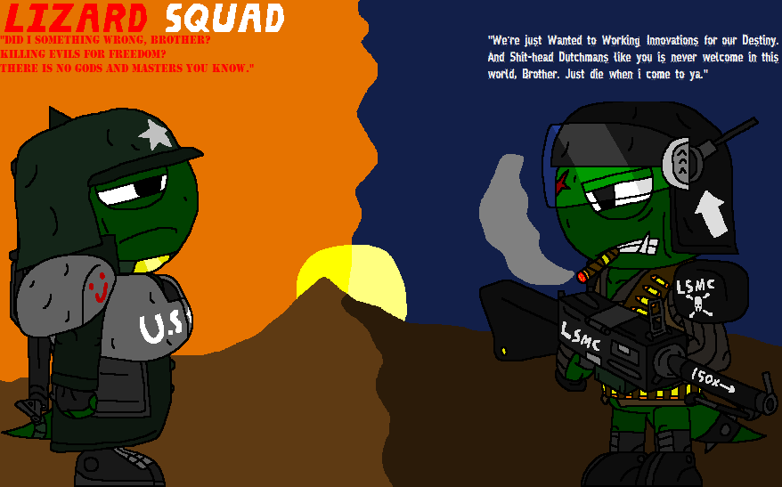 Lizard Squad- The Hacker Group With Brought Down Some of the Market Giants