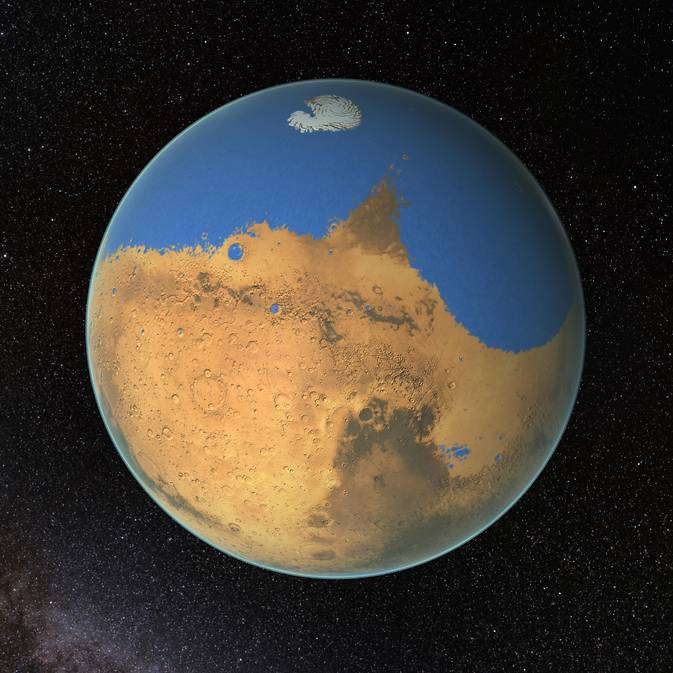 NASA Finds Evidence of Ancient Ocean Covering 20 Percent of Mars