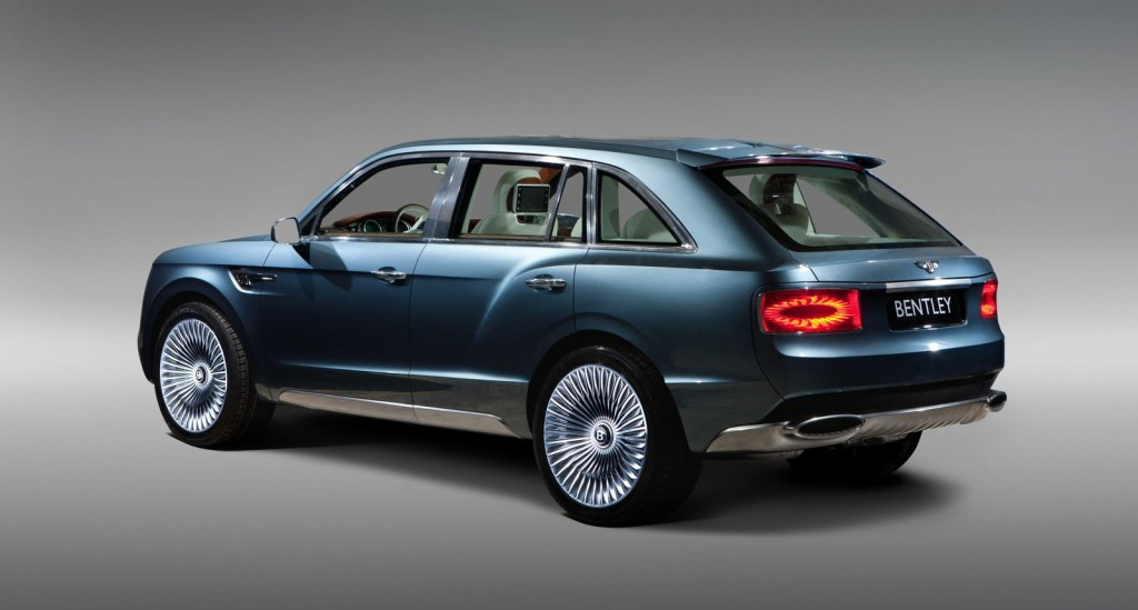 2016 Bentley Bentayga SUV – New