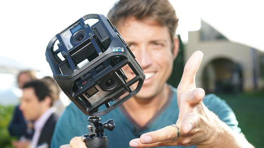 GoPro Makes Its Way into Virtual Reality Market