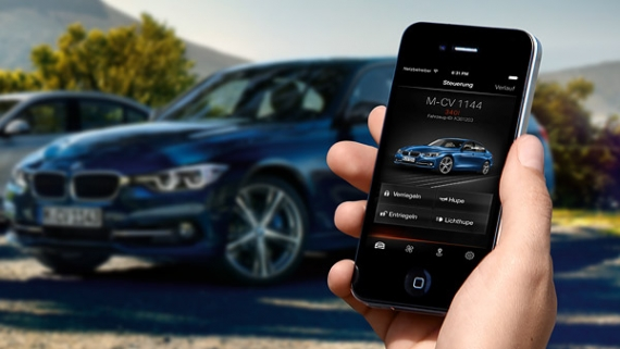 BMW Connected App Links Your Car and Calendar