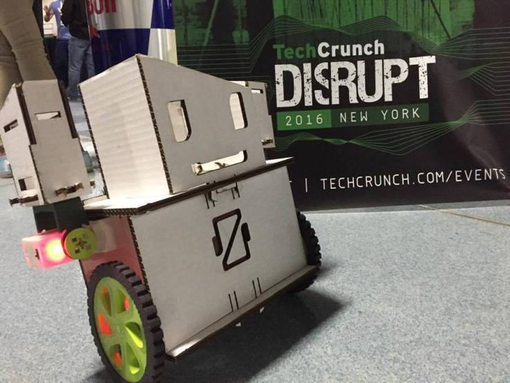 Ziro is a Nifty Hand Controlled Robotics kit for Kids