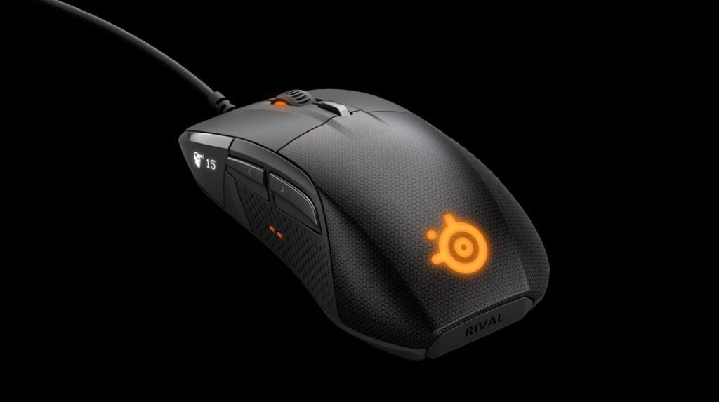 SteelSeries Ships its OLED Packing Gaming Mouse Rival 700