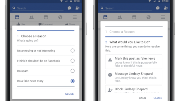 Facebook Rolls Out New Tools to Tackle False Stories
