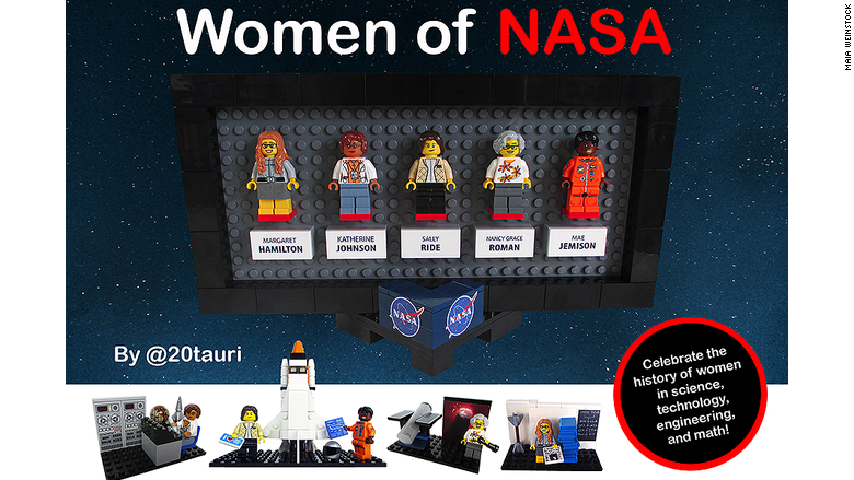 NASA  Women Space Pioneers to Star in New Lego set