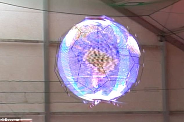 The Incredible Spherical Flying Screens That Could Soon Show Ads in the Sky