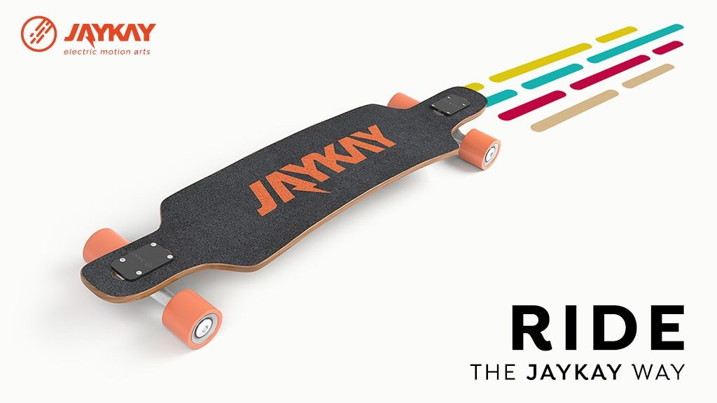 JayKay -The Electric Skateboard Truck with Invisible Drive