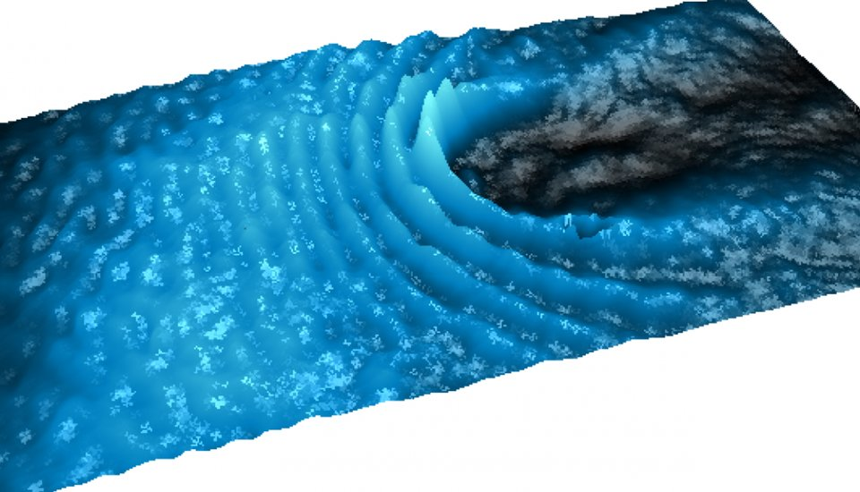 Polariton: Liquid Light Can Bend Around Objects in a Frictionless Flow