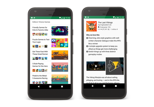 Editors Choice Update: Find Great Apps and Games on Google Play