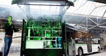 Formic Acid to Power a Bus