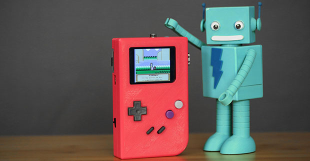 DIY Project: Make Your Own Game Boy by Fixing and Tuning Few things together