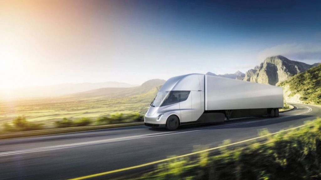 Tesla Semi Electric Truck in Latest Effort to Move Away From Diesel