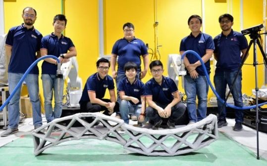 Smart Technology: Can Print Concrete Structures Simultaneously